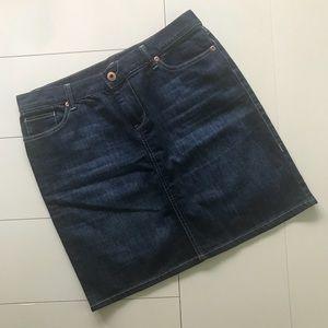 New York & Company - Dark Wash Jean Skirt: Size 10